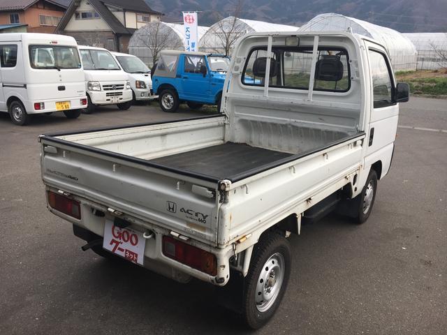 ホンダ アクティトラック SDX 4WD 5速マニュアル ゲートプロテクター