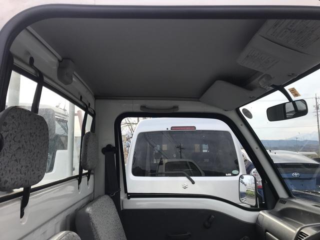 JA 4WD EL付5速MT 軽トラック 走行10400km(16枚目)