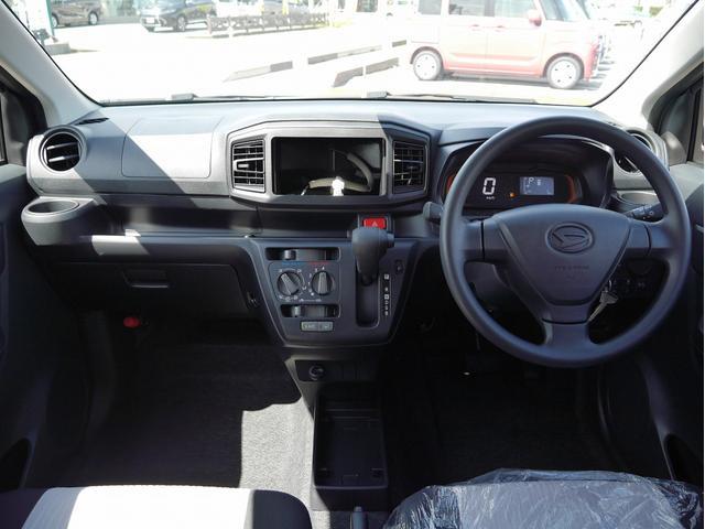 ダイハツ ミライース L SAIII 4WD 届出済未使用車 自動ブレーキ