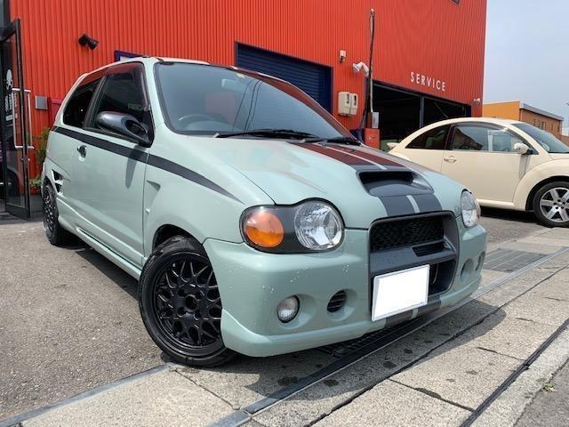 RS/Z 4WD 全塗装 ボディ加工 検R3年3月迄(2枚目)
