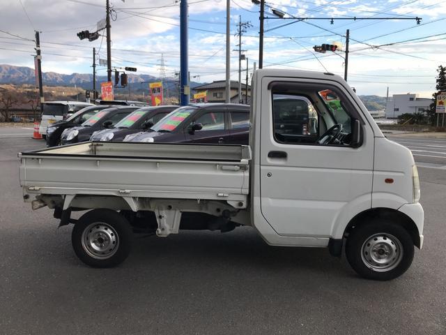 ダンプ 4WD 5速マニュアル エアコン パワステ付き(6枚目)