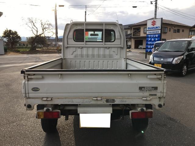 ダンプ 4WD 5速マニュアル エアコン パワステ付き(8枚目)
