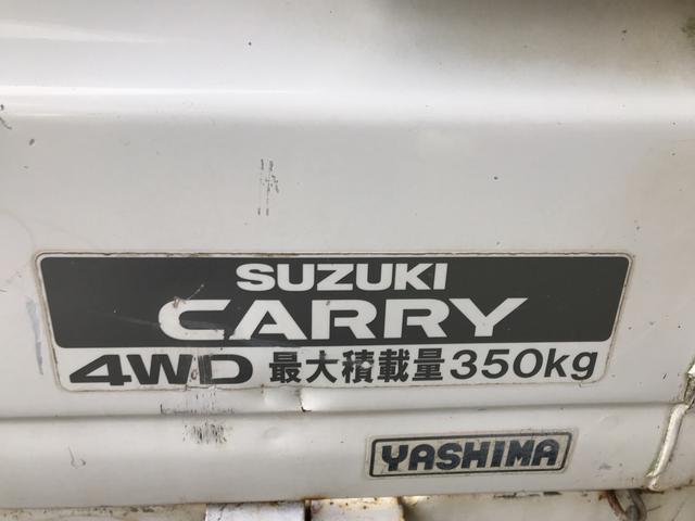 ダンプ 4WD 5速マニュアル エアコン パワステ付き(12枚目)