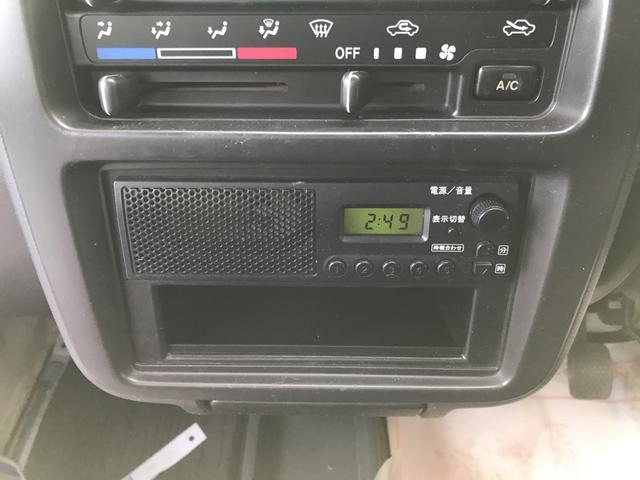 ダンプ 4WD 5速マニュアル エアコン パワステ付き(19枚目)