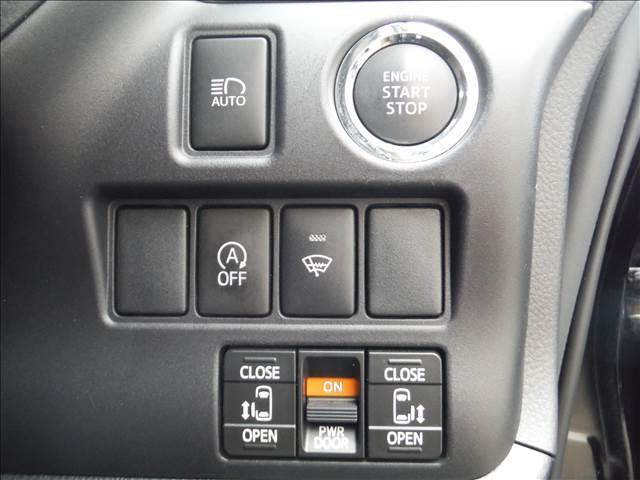 Gi4WD純正9型ナビ純正フリップダウンモニター両側パワスラ(15枚目)