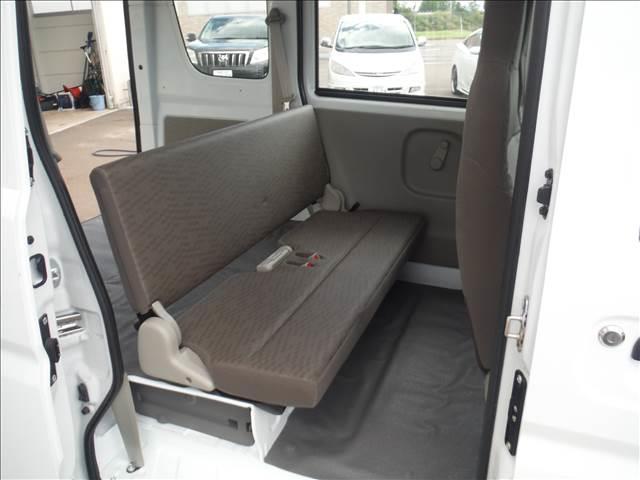 PA 4WD ハイルーフ 5AGS 2nd発進モード オーバーヘッドシェルフ エアコン パワステ MTモードAT Hライトレベライザー ABS(19枚目)