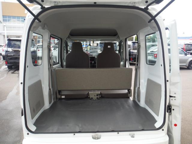 PA 4WD ハイルーフ 5AGS 2nd発進モード オーバーヘッドシェルフ エアコン パワステ MTモードAT Hライトレベライザー ABS(21枚目)