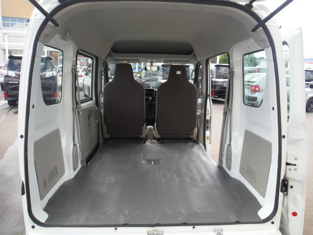 PA 4WD ハイルーフ 5AGS 2nd発進モード オーバーヘッドシェルフ エアコン パワステ MTモードAT Hライトレベライザー ABS(22枚目)