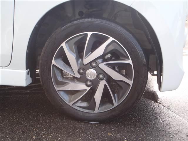 TS 4WDターボメモリーナビ両側パワスラアイドリングストップスマートキープッシュスタートシートヒーターオートライトキセノン本革巻ステア純正フルエアロ純正15AW(7枚目)