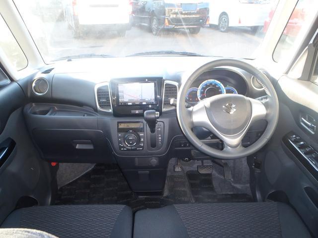 TS 4WDターボメモリーナビ両側パワスラアイドリングストップスマートキープッシュスタートシートヒーターオートライトキセノン本革巻ステア純正フルエアロ純正15AW(12枚目)