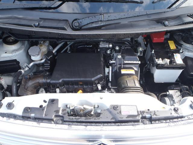 TS 4WDターボメモリーナビ両側パワスラアイドリングストップスマートキープッシュスタートシートヒーターオートライトキセノン本革巻ステア純正フルエアロ純正15AW(27枚目)