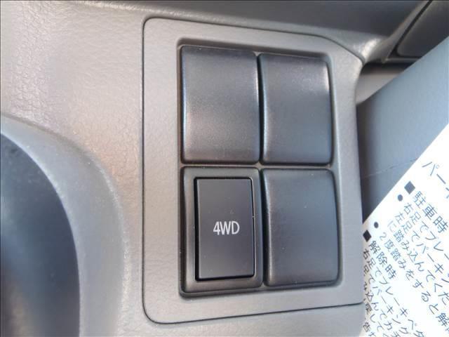 PA 4WD 純正ラジオ パートタイム4WD オーバーヘッドシェルフ ヘッドライトレベライザー エアコン パワステ 純正ゴムマット(16枚目)