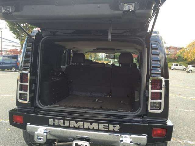 ハマー ハマー H2 タイプG ディーラー車 社外ビレットパーツ多数 ローダウン