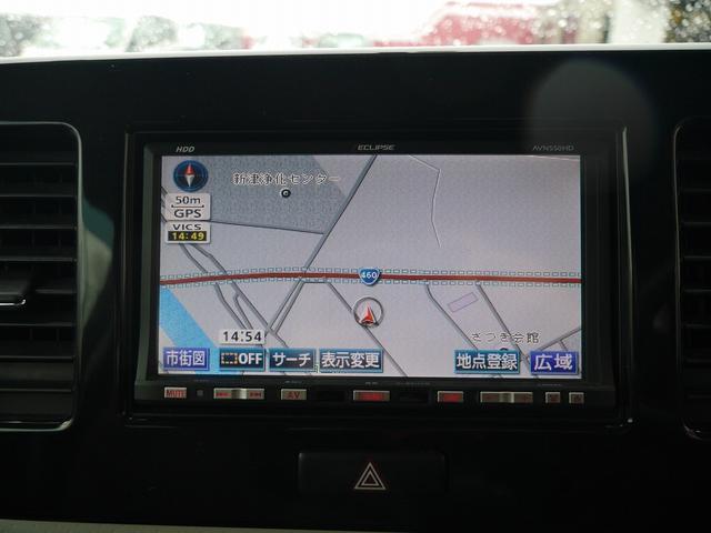 S 社外HDDナビ/ワンセグTV バックカメラ ETC 社外13インチアルミホイール キーレスキー ベンチシート ABS Wエアバッグ(3枚目)
