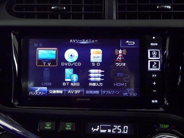 トヨタ アクア G G's 社外SDナビ フルセグTV バックカメラ ETC