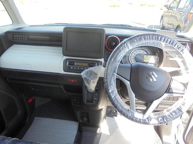 スズキ スペーシア ハイブリッドG 4WD 届出済未使用車 両側スライドドア