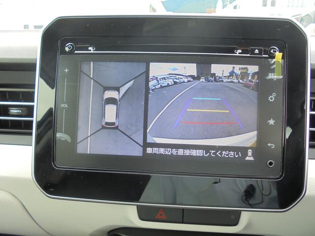 スズキ イグニス ハイブリッドMZ 4WD 全方位モニター付ナビ 当社試乗車