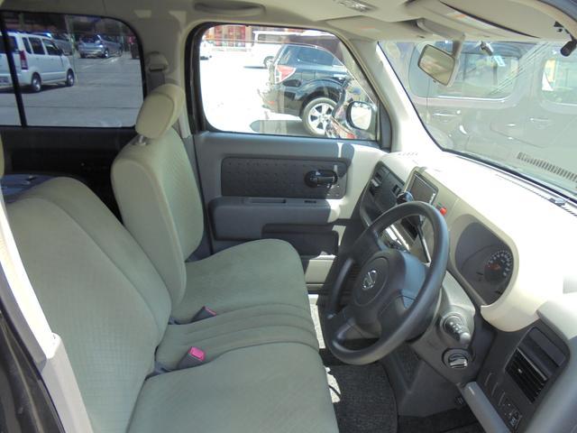 日産 キューブ SX 内外装現状 4WD