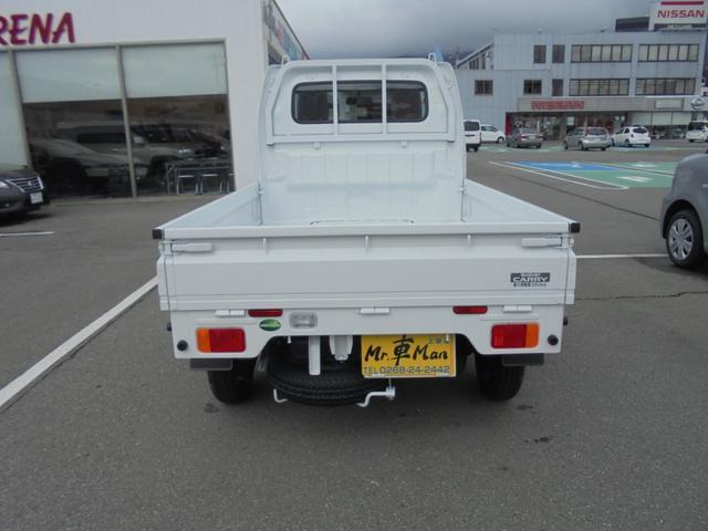 KCエアコン・パワステ4WD5速マニュアル届出済み未使用車(3枚目)