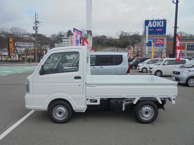 KCエアコン・パワステ4WD5速マニュアル届出済み未使用車(4枚目)
