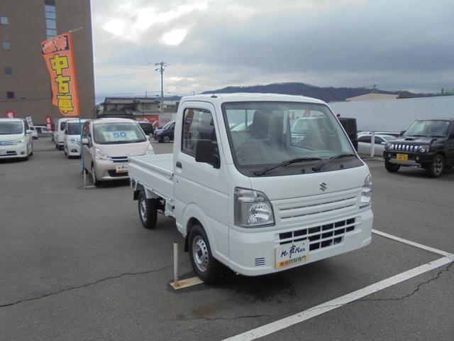 KCエアコン・パワステ4WD5速マニュアル届出済み未使用車(5枚目)