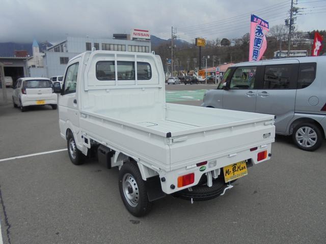 KCエアコン・パワステ4WD5速マニュアル届出済み未使用車(8枚目)
