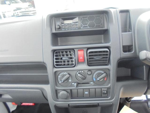 KCエアコン・パワステ4WD5速マニュアル届出済み未使用車(9枚目)