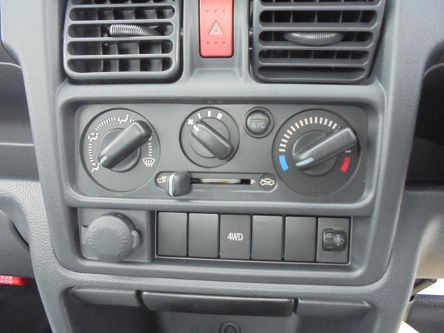 KCエアコン・パワステ4WD5速マニュアル届出済み未使用車(11枚目)