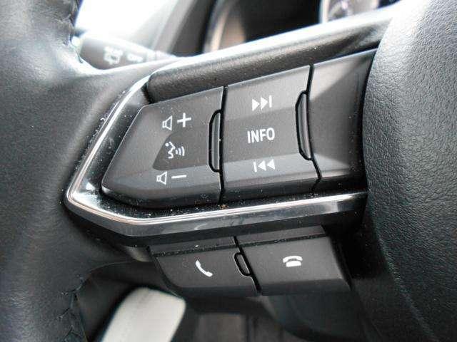 オーディオリモートコントロールスイッチ付で、走行中でも安心してオーディオ操作可能です