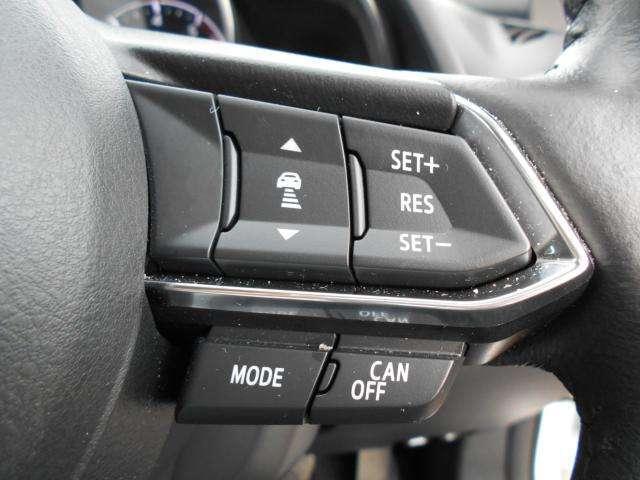 ミリ波レーダーで先行車との速度差や車間距離を認識。約30から100Kmの範囲で自動追従走行を可能にするMRCCが長距離走行でのドライバーの負担を軽減