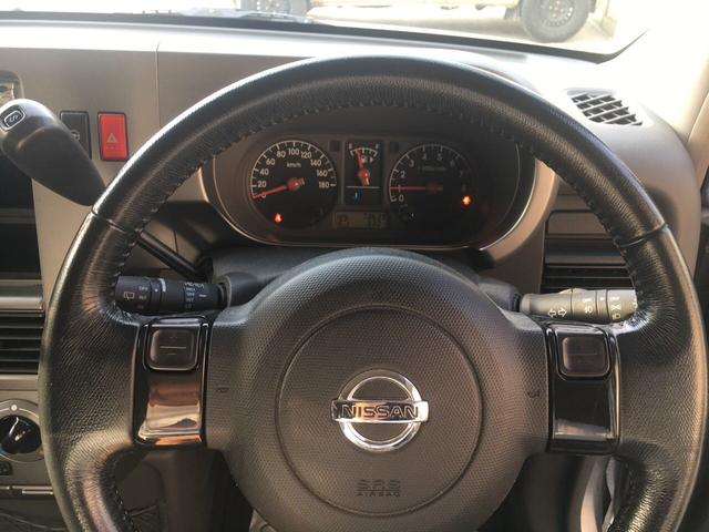 日産 キューブ SX 2WD スマートキー アルミホイール