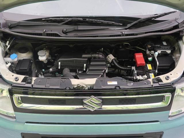 ハイブリッドFX 4WD 衝突軽減装置 車線逸脱警報 オートマチックハイビーム シートヒーター スマートキー アイドリングストップ ETC オートエアコン ベンチシート 禁煙車(46枚目)