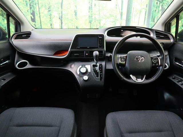G セーフティセンス 社外SDナビ 禁煙車 4WD 6人乗 オートマチックハイビーム LEDヘッド 両側電動スライド ETC 純正15AW シートヒーター バックカメラ アイドリングストップ スマートキー(2枚目)