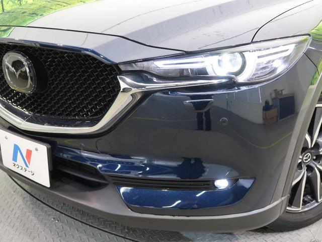 XD Lパッケージ マツダコネクトナビ 衝突軽減装置 レーダークルーズ 全周囲モニター シートヒーター 革シート パワーシート LEDヘッド LEDフォグ スマートキー 純正19インチAW Bluetooth接続(34枚目)