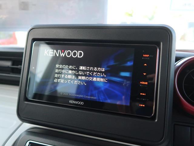 ハイブリッドG 届出済未使用車 社外SDナビ 4WD アイドリングストップ シートヒーター オートエアコン オートライト 両側スライド ヘッドライトレベライザー スマートキー 電格ミラー 横滑り防止(3枚目)