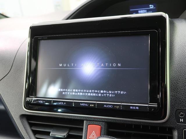 ZS 純正9型ナビ 禁煙車 7人乗 両側電動スライド LEDヘッド ハロゲンフォグ スマートキー 純正16インチAW デュアルオートエアコン ビルトインETC フルセグTV(3枚目)