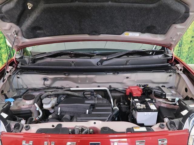 JスタイルII SDナビ デュアルカメラブレーキ 4WD HIDヘッド LEDフォグ ハーフレザーシート シートヒーター ナノイー機能付オートエアコン 純正15インチAW 誤発進抑制 車線逸脱警報 ドライブレコーダー(20枚目)