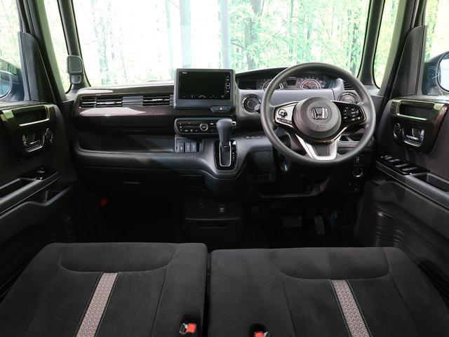 G・Lホンダセンシング 純正SDナビ 4WD ホンダセンシング 電動スライド シートヒーター バックカメラ フルセグTV コーナーセンサー オートハイビーム アダプティブクルーズ 純正15インチAW LEDヘッド&フォグ(2枚目)