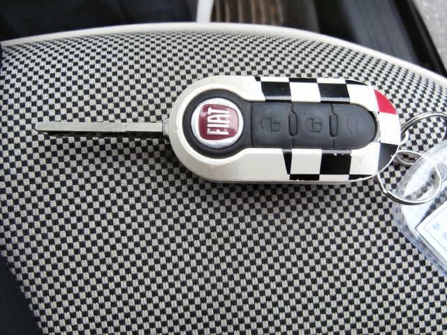 フィアット フィアット 500 1.2 8V ラウンジ ナビ ETC ガラスルーフ