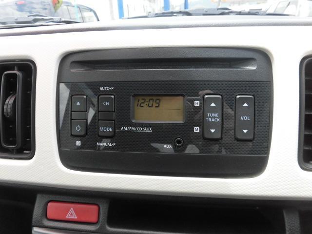 純正オーディオはCDラジオです!