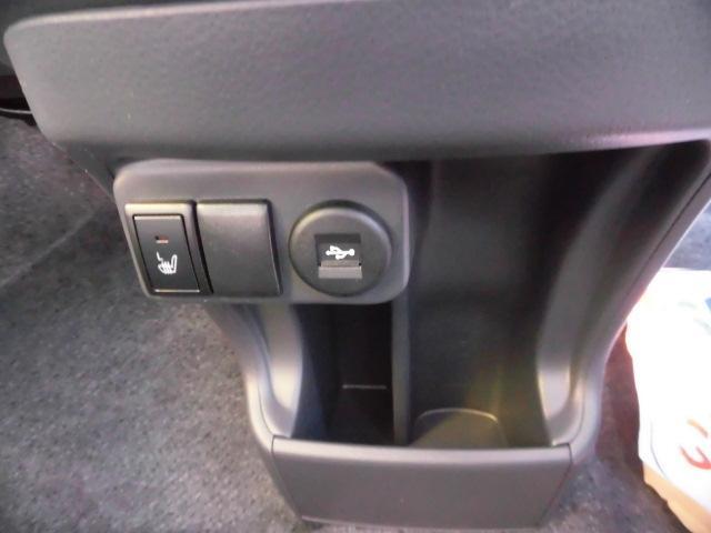 シートヒーター&USB