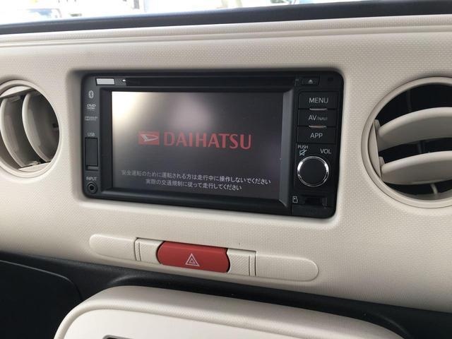 ダイハツ ミラココア ココアXリミテッド 4WD 純正ナビTV バックカメラ