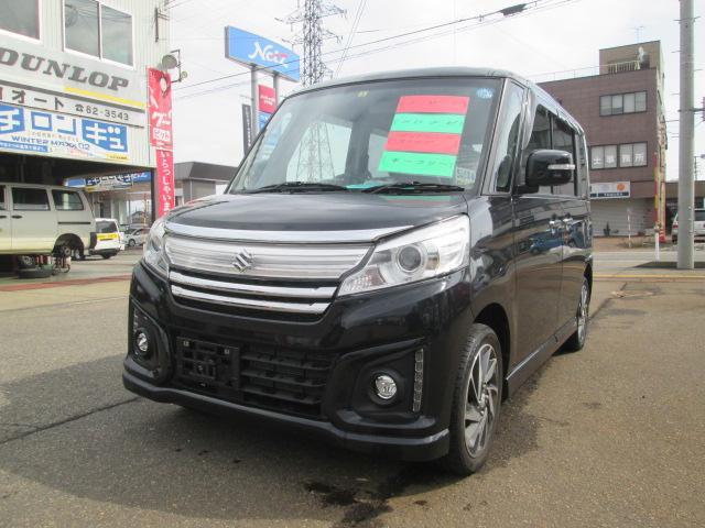 「スズキ」「スペーシアカスタム」「コンパクトカー」「新潟県」の中古車7