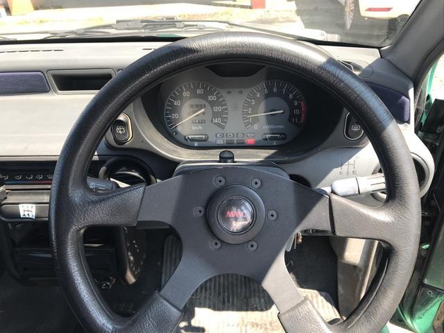 ダンガンZZ 5速マニュアル ターボ タイベル交換済み 走行67800km 車検4年7月迄(10枚目)