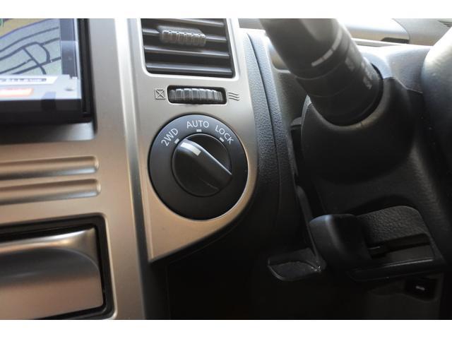 スクラッチガードコートエディション 4WD ハイパールーフレール スマートキー ナビ ミュージックサーバー ETC 純正アルミ 一年保証(20枚目)