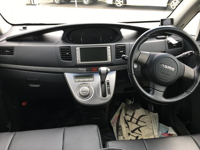 ダイハツ ムーヴ カスタム RSターボ 4WD ナビ フルセグTV 革調カバー