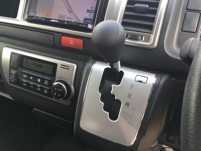 トヨタ ハイエースワゴン GL ワイドロング 4WD 左パワスラ ナビ Wエアコン