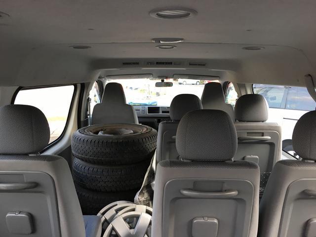 トヨタ ハイエースワゴン DX 4WD 10人乗 集中ドアロック リアヒーター