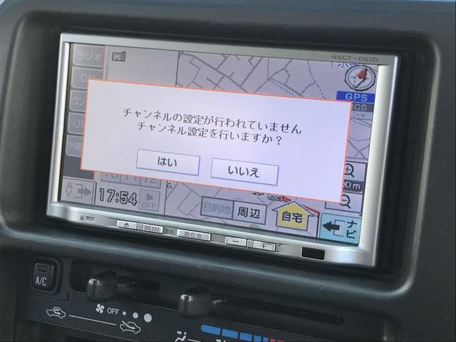 クルーズターボ 4WD メモリーナビ TV ETC キーレス(15枚目)