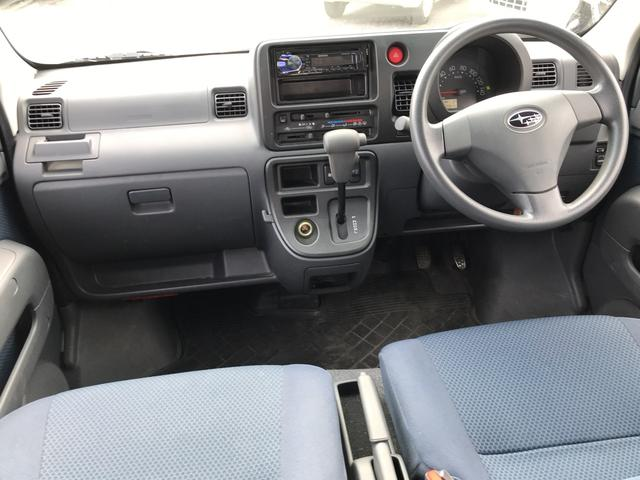 スバル サンバーバン VC 4WD オートマ AC PS PW キーレス
